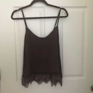 Mauve soft and sexy tank top